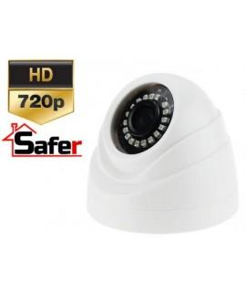 Camera supraveghere dome HD, IR 20 metri AHD/HDCVI/TurboHD/CVBS